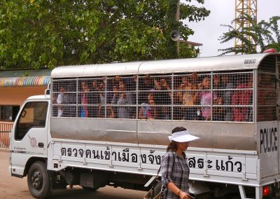 Cambodia – no man's land