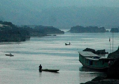 Mekong and Irawaddy River Basins – water resources exploitment